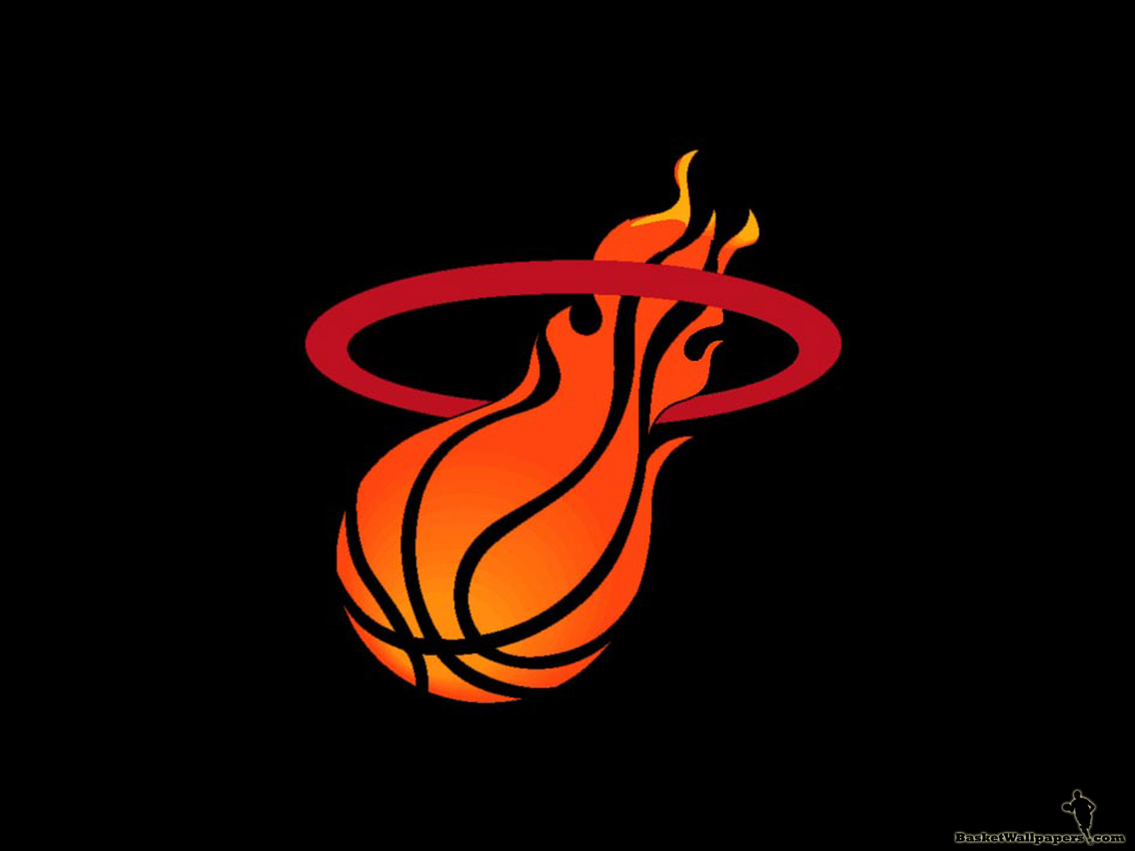 Miami Heat Logo Basketball