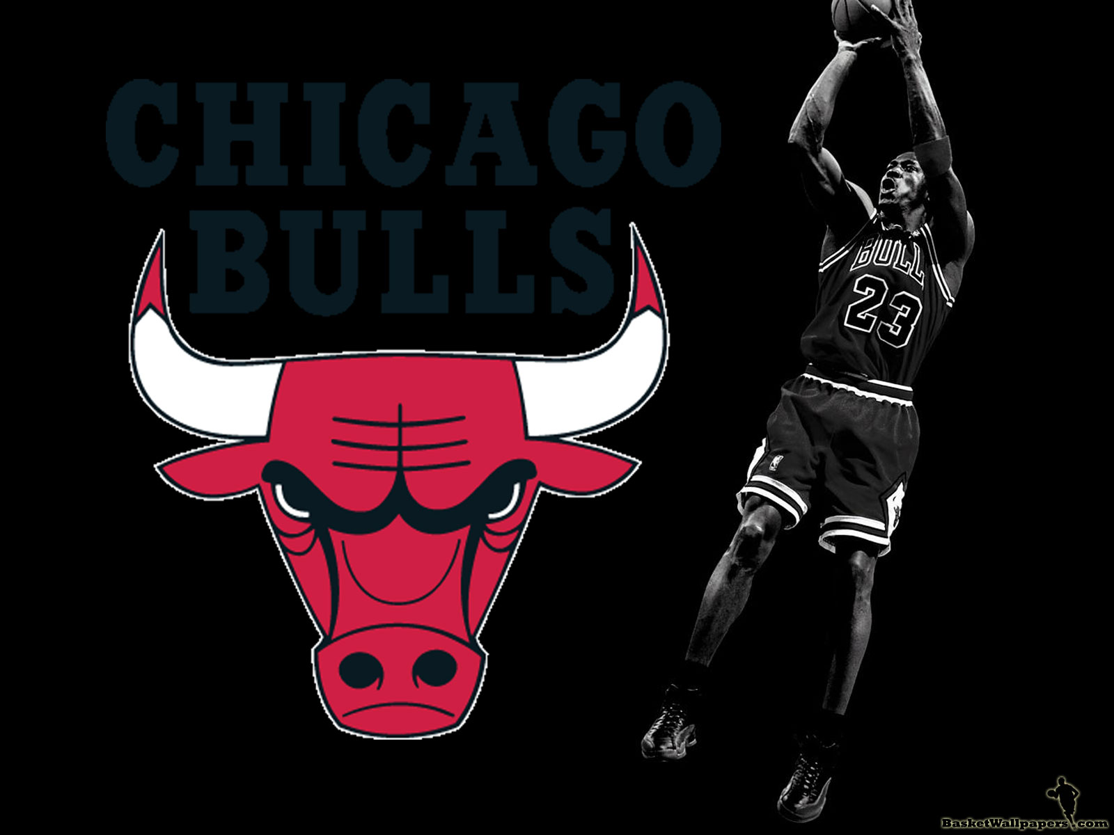 Michael Jordan CHICAGO BULLS Wallpaper - Basketball Wallpapers