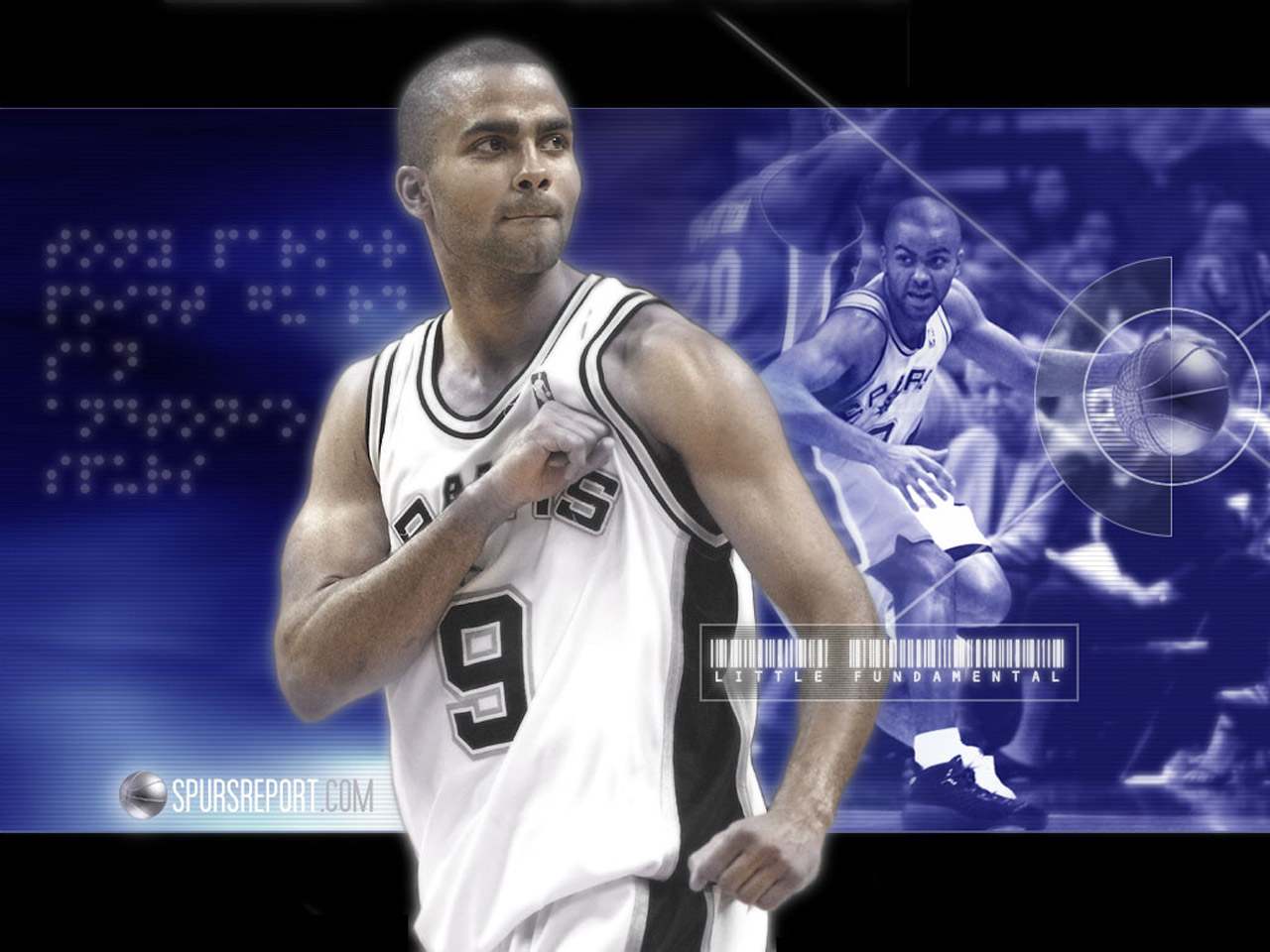 Tony Parker Spurs Wallpaper