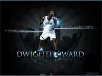 Dwight Howard Magic Wallpaper