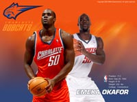 Emeka Okafor Shooting Wallpaper