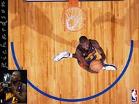 Jason Richardson Slam Dunk Champion Wallpaper
