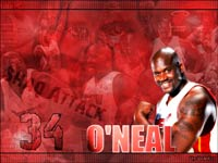 Shaquille O'Neal Miami Heat Wallpaper