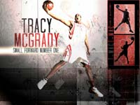 Tracy McGrady Dunk Wallpaper