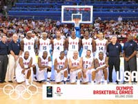 USA Basketball Olympic Team 2008 Wallpaper