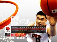 Yao Ming WC 2006 Wallpaper