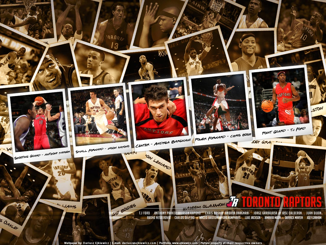 "and one more ""Raptors related"" wallpaper :) After Chris Bosh i am now"