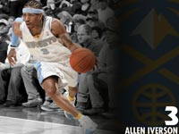 Allen Iverson Nuggets Wallpaper