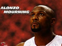 Alonzo Mourning Heat Wallpaper