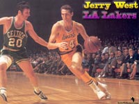 Jerry West LA Lakers Wallpaper