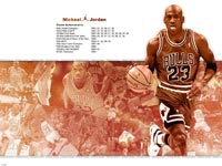 Michael Jordan Info Wallpaper