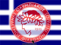 Olympiacos Piraeus Logo Wallpaper
