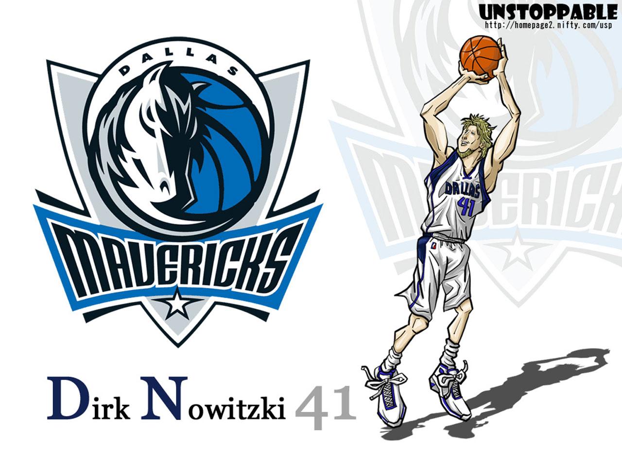 Dirk Nowitzki Drawn Wallpaper - Basketball Wallpapers