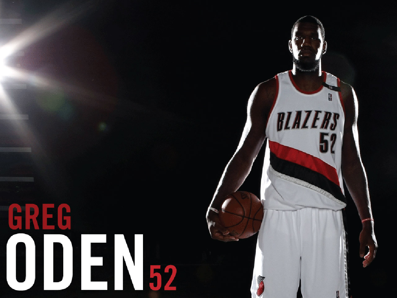 GREG ODEN Blazers Wallpaper - Basketball Wallpapers