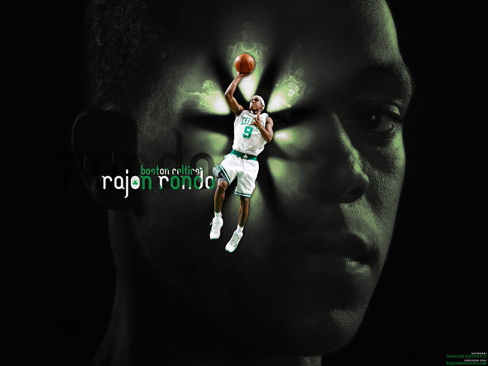 Rajon Rondo - Basketball Wallpapers