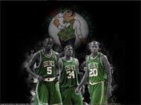 Garnett-Pierce-Allen Celtics Wallpaper