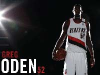 Greg Oden Blazers Wallpaper
