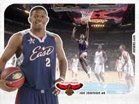 Joe Johnson All-Star 2007 Wallpaper