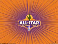 NBA All-Star 2009 Logo Wallpaper