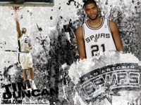 Tim Duncan Spurs Wallpaper