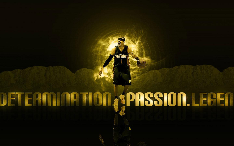 Allen Iverson Pistons Widescreen Wallpaper Basketball Wallpapers