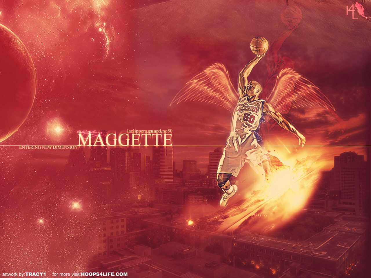 Corey Mag te Angel Dunk Wallpaper
