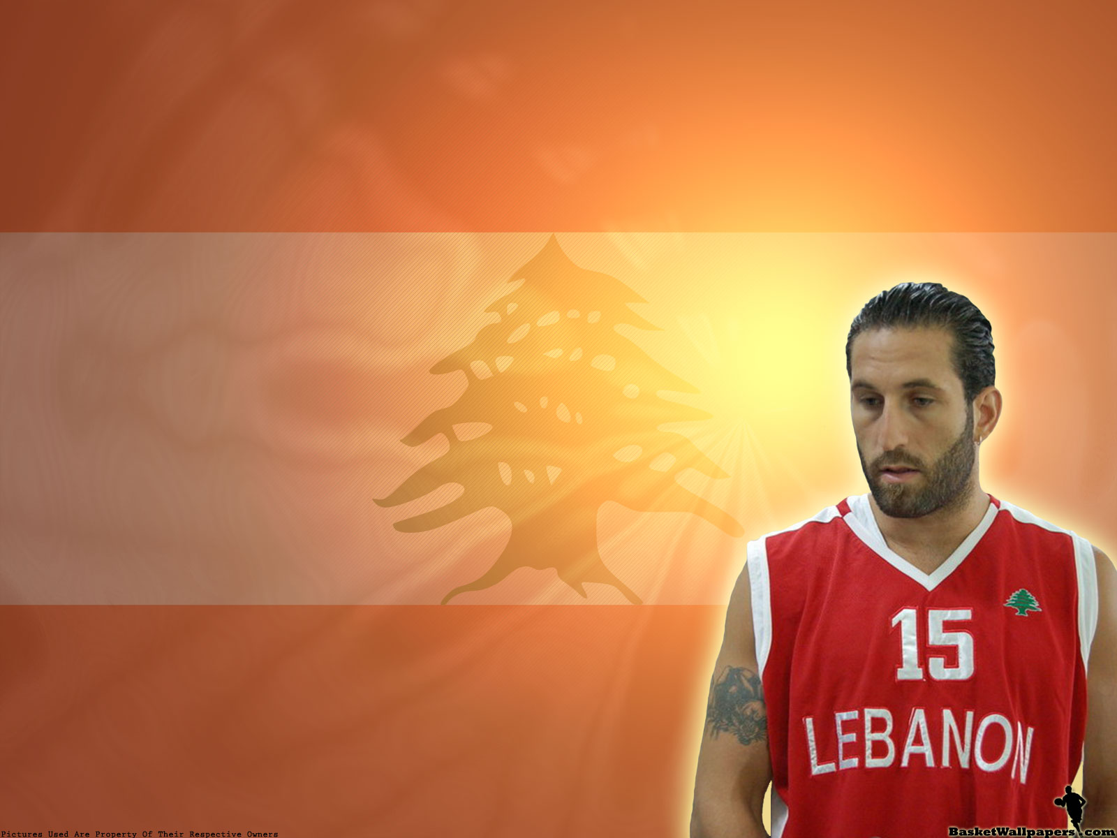 I haven't found any good wallpapers of him so i made one with him in Lebanon