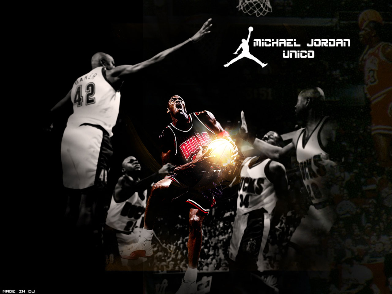 legend - 3 new wallpapers of Michael Jordan :) this wallpaper represents