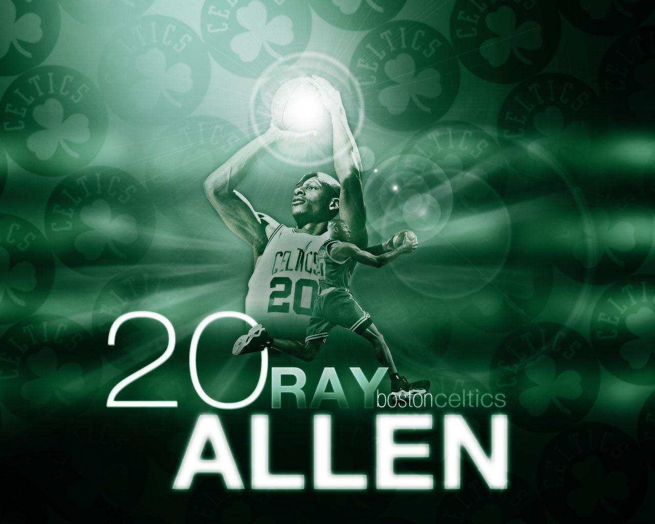 Ray Allen Celtics No. 20 Wallpaper