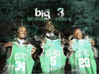 Boston Celtics Big 3 Wallpaper