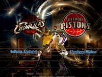 Cavs Pistons 2009 Playoffs Wallpaper