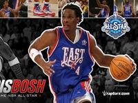 Chris Bosh 2008 All-Star Widescreen Wallpaper