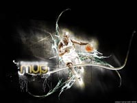 Chris Paul Dribbling Wallpaper