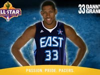 Danny Granger 2009 All-Star Wallpaper