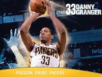 Danny Granger Pacers Widescreen Wallpaper