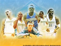 Denver Nuggets 2008-09 Wallpaper