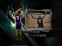 Derek Fisher Widescreen Wallpaper