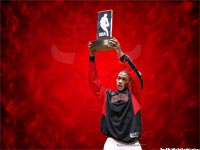 Derrick Rose 2009 Rookie Award Wallpaper