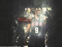 Dwyane Wade Dream Team Wallpaper