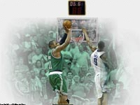 Glen Davis Playoffs Buzzer Beater 2009 Wallpaper