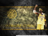 Jermaine O'Neal Indiana Pacers Wallpaper