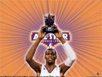 Kevin Durant Rookies All-Star MVP 2009 Wallpaper