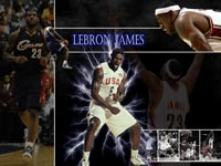 LeBron James Dream Team Wallpaper