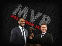 LeBron James 2009 NBA MVP Wallpaper