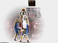 LeBron James Playoffs 2009 Buzzer Beater Wallpaper