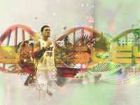 Michael Beasley Heat Widescreen Wallpaper