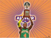 Nate Robinson 2009 Slam Dunk Champion Wallpaper