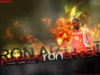Ron Artest Rockets Wallpaper