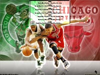 Derrick Rose 1st Playoff Game Wallpaper