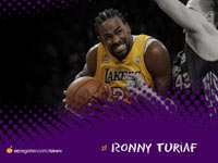 Ronny Turiaf Lakers Widescreen Wallpaper